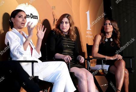 Roselyn Sanchez, Rachel and Lisa Vidal