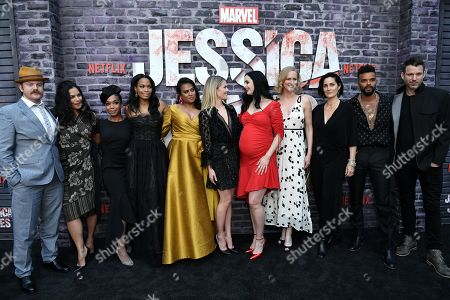 Editorial picture of 'Jessica Jones' Season 3 Special Screening, Arrivals, ArcLight Cinemas, Los Angeles, USA - 28 May 2019