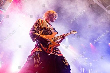 Stock Photo of Ryota Kohama of One Ok Rock