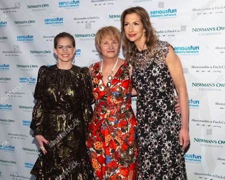 Anna Chlumsky, Shawn Colvin, Alysia Reiner. Musician Shawn Colvin, center, actresses Anna Chlumsky, left, and Alysia Reiner attend the SeriousFun Children's Network gala at Cipriani 42nd Street, in New York