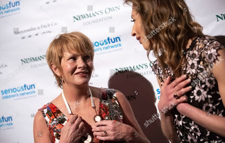 Shawn Colvin, Alysia Reiner. Musician Shawn Colvin, left, and actress Alysia Reiner attend the SeriousFun Children's Network gala at Cipriani 42nd Street, in New York