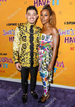 Anthony Ramos and DeWanda Wise