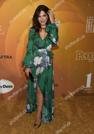"Angelica Celaya arrives at People en Espanol's ""Most Beautiful"" party, at 1 Hotel in West Hollywood, Calif"