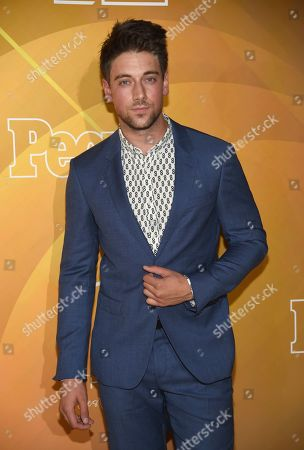 "Lincoln Younes arrives at People en Espanol's ""Most Beautiful"" party, at 1 Hotel in West Hollywood, Calif"