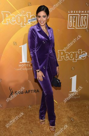 "Edy Ganem arrives at People en Espanol's ""Most Beautiful"" party, at 1 Hotel in West Hollywood, Calif"