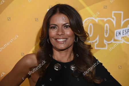 """Lisa Vidal arrives at People en Espanol's """"Most Beautiful"""" party, at 1 Hotel in West Hollywood, Calif"""