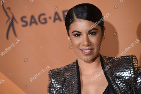 "Chrissie Fit arrives at People en Espanol's ""Most Beautiful"" party, at 1 Hotel in West Hollywood, Calif"