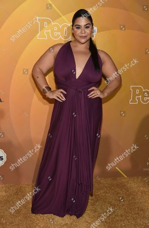 "Jessica Marie Garcia arrives at People en Espanol's ""Most Beautiful"" party, at 1 Hotel in West Hollywood, Calif"