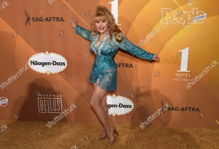 """Stock Image of Charo arrives at People en Espanol's """"Most Beautiful"""" party, at 1 Hotel in West Hollywood, Calif"""