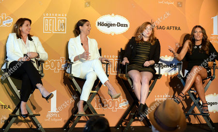 Victoria Alonso, Roselyn Sanchez, Rachel Miller and Lisa Vidal