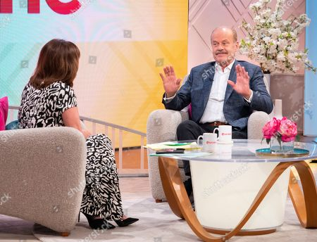 Stock Picture of Lorraine Kelly and Kelsey Grammer