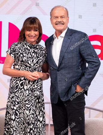 Stock Photo of Lorraine Kelly and Kelsey Grammer