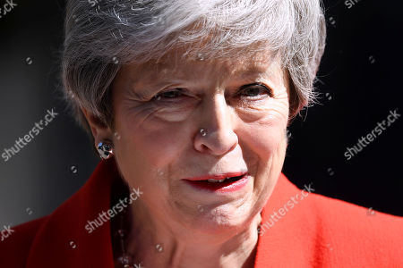 Prime Minister Theresa May resigns, London