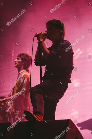 Julian Casablancas and Nick Valensi - The Strokes