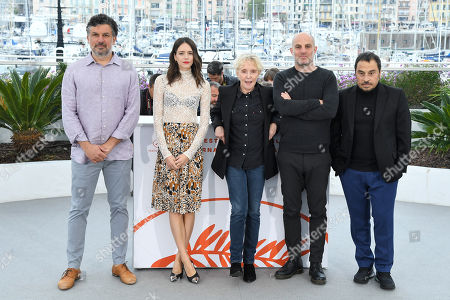 Stock Photo of Catalin Mitulescu, Stacy Martin, Claire Denis, Eran Kolirin and Panos H. Koutras