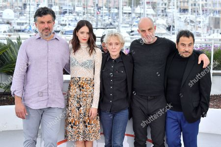 Catalin Mitulescu, Stacy Martin, Claire Denis, Eran Kolirin and Panos H. Koutras