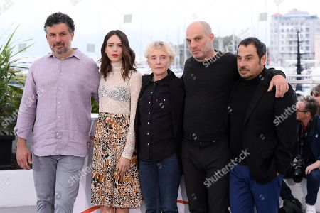 Stock Picture of Catalin Mitulescu, Stacy Martin, Claire Denis, Eran Kolirin and Panos H. Koutras