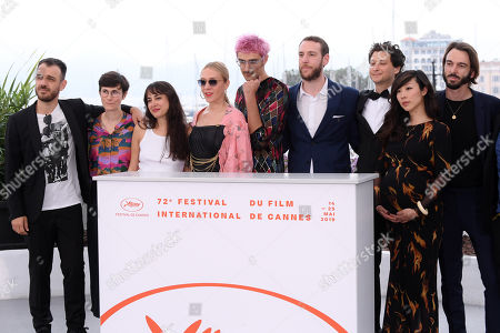Les Realisateurs Des Courts Metrages En Competition photocall, 72nd Cannes Film Festival