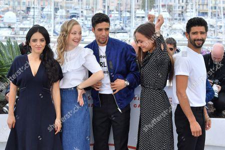 Hafsia Herzi, Marie Bernard, Shain Boumedine, Lou Luttiau and Salim Kechiouche