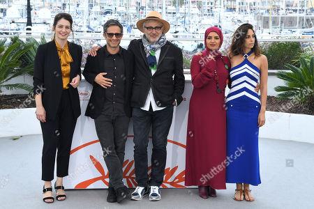 Hanaa Issa, Gael Garcia Bernal, Elia Suleiman, Fatma Hasssan Alrenaihi and Yasmine Hamdan