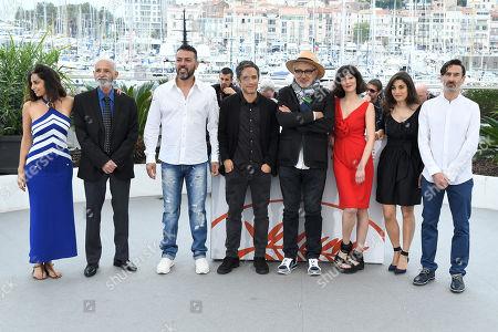 Stock Photo of Yasmine Hamdan, Tarik Kopty, Karim Ghneim, Gael Garcia Bernal, Elia Suleiman, Raia Haidar, Yasmine Haj and Fadi Sakr