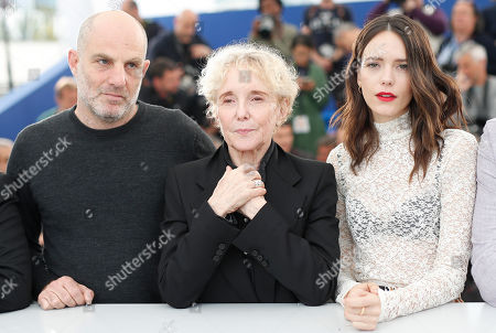 Jury member Israeli screenwriter Eran Kolirin (L), Jury President Claire Denis of France (C) and Jury member French-British actress Stacy Martin pose during the photocall for Cinefondation and Shorts at the 72nd annual Cannes Film Festival, in Cannes, France, 24 May 2019. The movie is presented in the section Special Screenings of the festival which runs from 14 to 25 May.