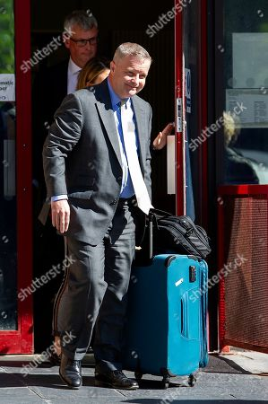 MP Chris Davies at Cardiff Magistrates Court