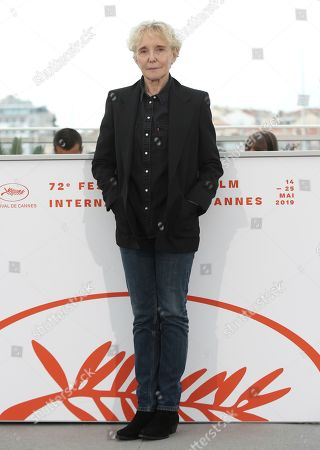 Director Claire Denis poses for photographers at the photo call for the Cinefoundation jury at the 72nd international film festival, Cannes, southern France