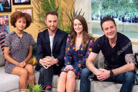 Gary Lucy, Lauren McQueen, Talia Grant and Gregory Finnegan