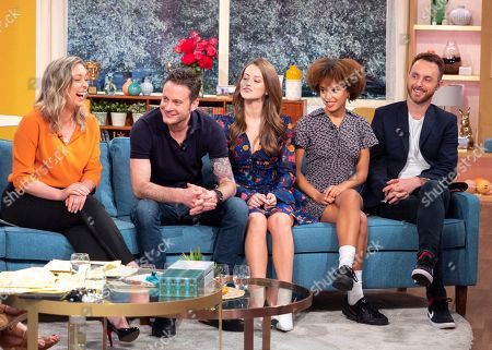 Sharon Marshall, Gary Lucy, Lauren McQueen, Talia Grant and Gregory Finnegan