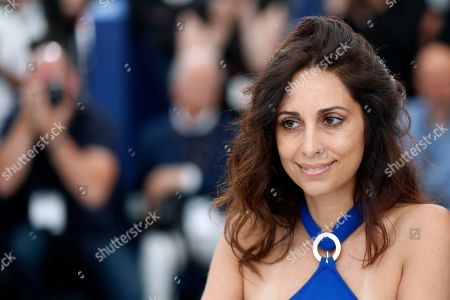 Yasmine Hamdan poses during the photocall for 'It Must Be Heaven' at the 72nd annual Cannes Film Festival, in Cannes, France, 24 May 2019. The movie is presented in the Official Competition of the festival which runs from 14 to 25 May.