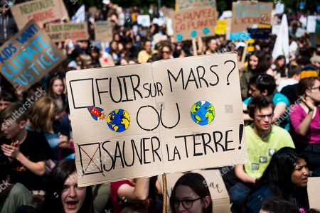 Fridays for Future climate change protest, Lausanne