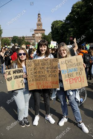 Fridays for Future climate change protest, Milan