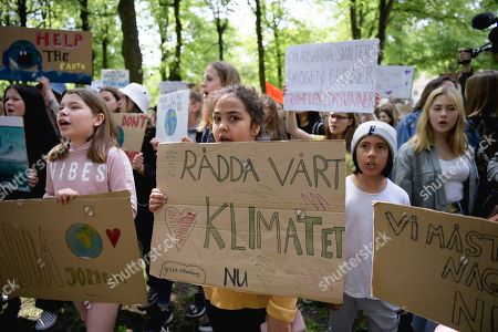 Fridays for Future climate change protest, Stockholm