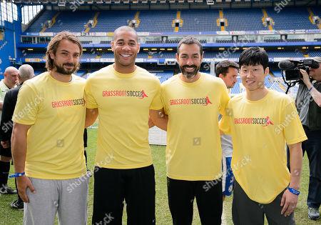 Niko Kranjcar, Oguchi Onyewu, Robert Pires and Park Ji-Sung