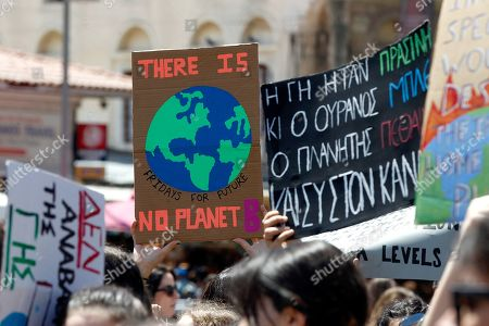 Fridays for Future climate change protest, Athens