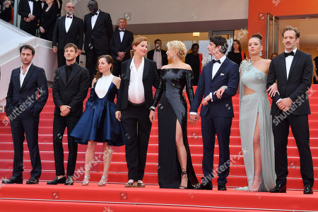 Arthur Harari, Gaspard Ulliel, Laure Calamy, Justine Triet, Virginie Efira, Niels Schneider, Adele Exarchopoulos and Paul Hamy