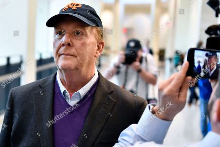 Chef Mario Batali arrives for arraignment, at municipal court in Boston, on charges he forcibly kissed and groped a woman at a Boston restaurant in 2017