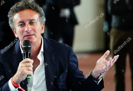 Formula E CEO Alejandro Agag of Spain speaks during the BILD100 Sport event in Berlin, Germany, 24 May 2019. The event invites 100 of the most important and influential German and International personalities of Politics, Economics, and Sport.