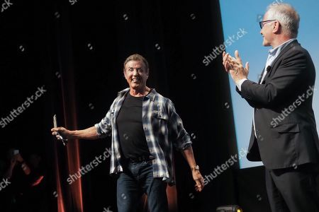 Editorial photo of Sylvester Stallone Masterclass, 72nd Annual Cannes Film Festival, France - 24 May 2019