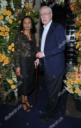 Sir Michael Caine and Lady Shakira Caine