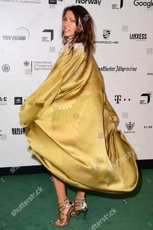 Jana Pallaske arrives for the Green Awards held on the occasion of the Green Festivals in Berlin, Germany, 24 May 2019.