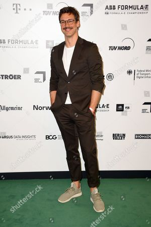 Florian David Fitz arrives for the Green Awards held on the occasion of the Green Festivals in Berlin, Germany, 24 May 2019.