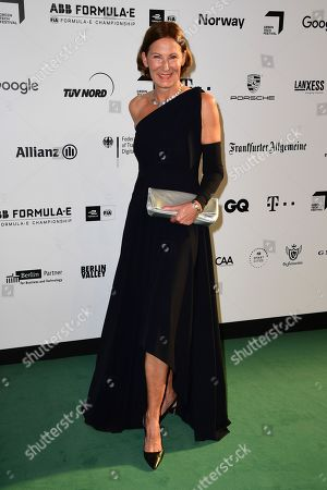 Eva Lutz arrives for the Green Awards held on the occasion of the Green Festivals in Berlin, Germany, 24 May 2019.