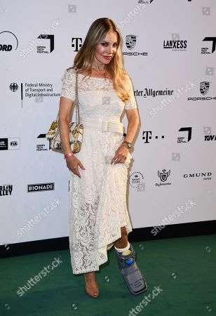 Xenia Seeberg arrives for the Green Awards held on the occasion of the Green Festivals in Berlin, Germany, 24 May 2019.