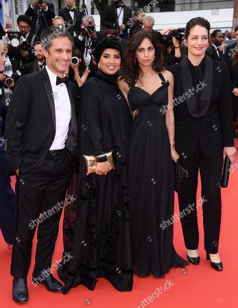 Gael Garcia Bernal, Hasssan Alrenaihi, Yasmine Hamdan and Hanaa Issa