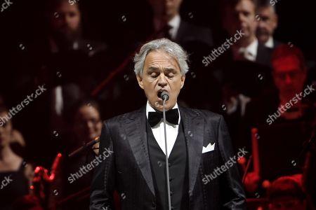 Andrea Bocelli in concert, Helsinki