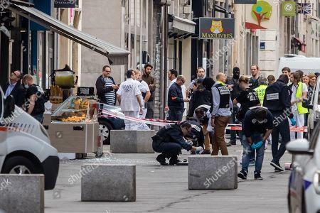 Suspected bomb attack, Lyon