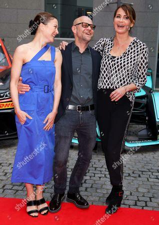 Hannah Herzsprung, Jürgen Vogel and Anja Kling