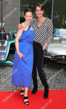 Hannah Herzsprung and Anja Kling
